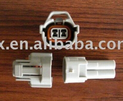 Nippon Denso Auto Connector Fuel Injector Waterproof Housing Terminals Plug Electrical Cable Pigtails Top Slots 7021A<br><br>Aliexpress