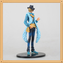 18cm One Piece Action Figures Sanji 15th Anniversary Edition PVC Toy For Collection