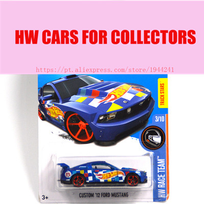 Toy cars 2016 New Hot 1:64 cars Wheels custom 12 ford mustang car Models Metal Diecast Car Collection Kids Toys Vehicle(China (Mainland))