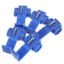 High Quality 50pcs/Set Scotch Lock Quick Splice 18-14 AWG Wire Connector