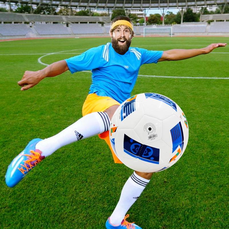 2016 High Quality PU material professional soccer ball original match training football Official size 5 LME127(China (Mainland))