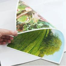 120g 140g 160g 180g 200g 240g 260g 280g 300g double side glossy photo paper with A4/A3 size(50 pieces)(China (Mainland))