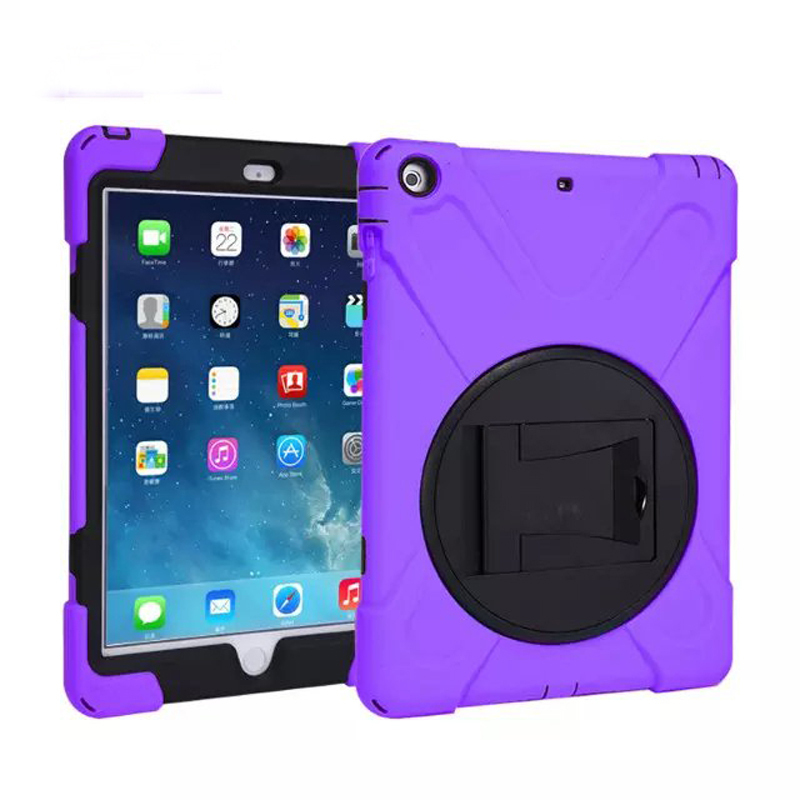 Shockproof Drop resistance Heavy Duty Tablet Case iPad Air 2 Silicone Protective Shell Cover Kickstand Apple 6 - Sor E-commerce store