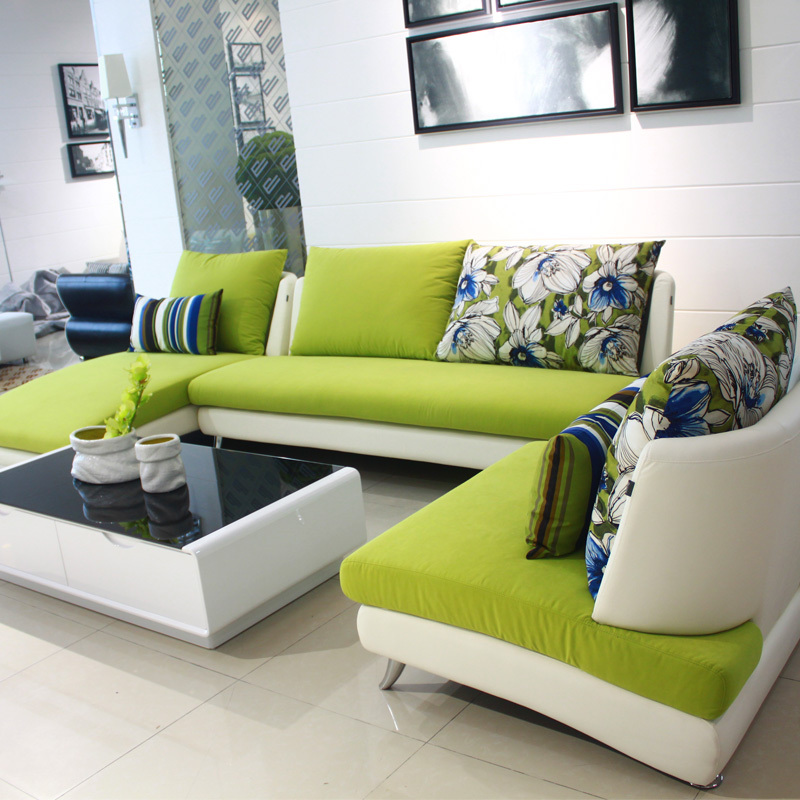 Dada Home Specials Small Apartment Living Room Corner Sofa Combination Of Modern Minimalist