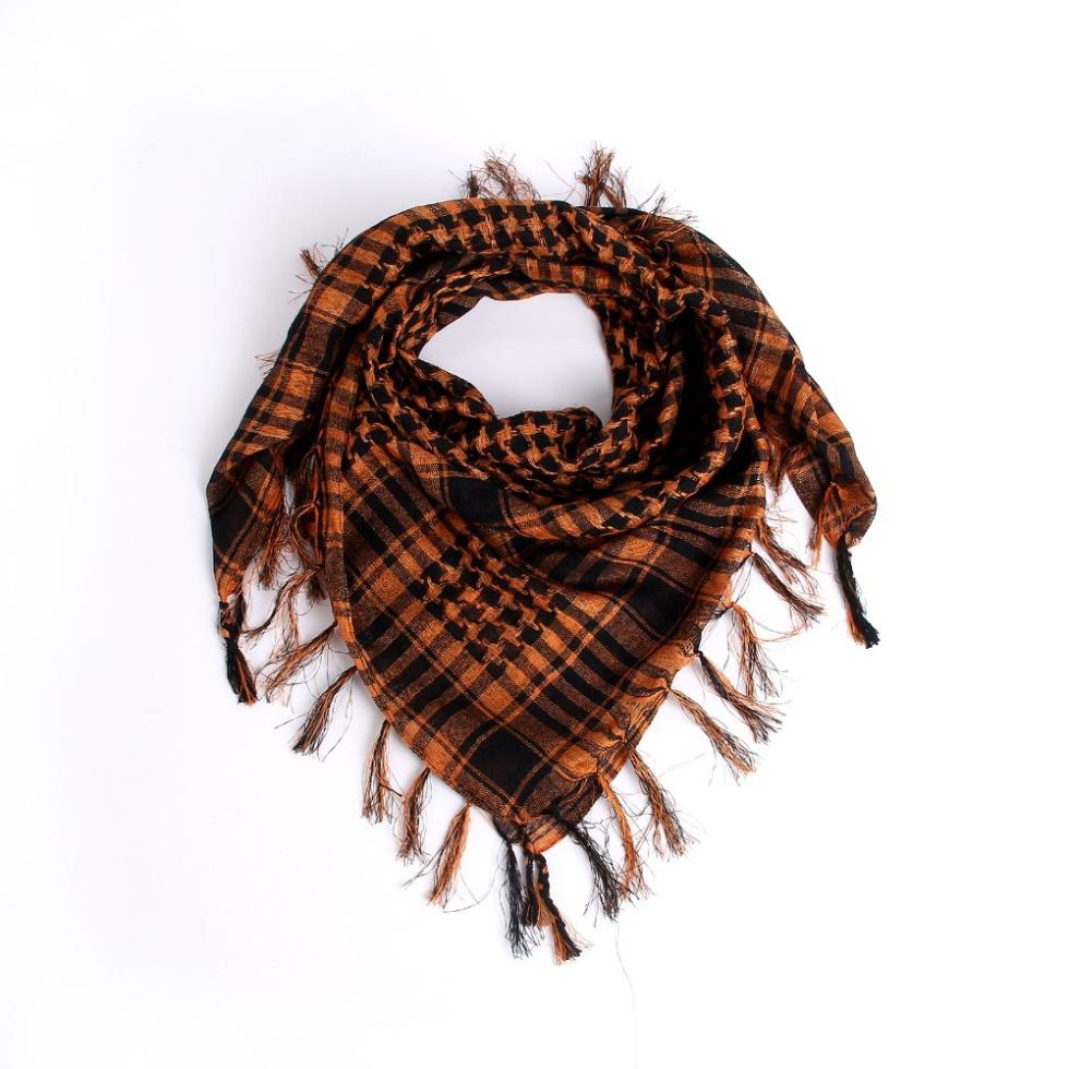 Hot Sale Unisex Women Men Checkered Arab Grid Neck Keffiyeh Palestine Scarf Wrap 65645 65656