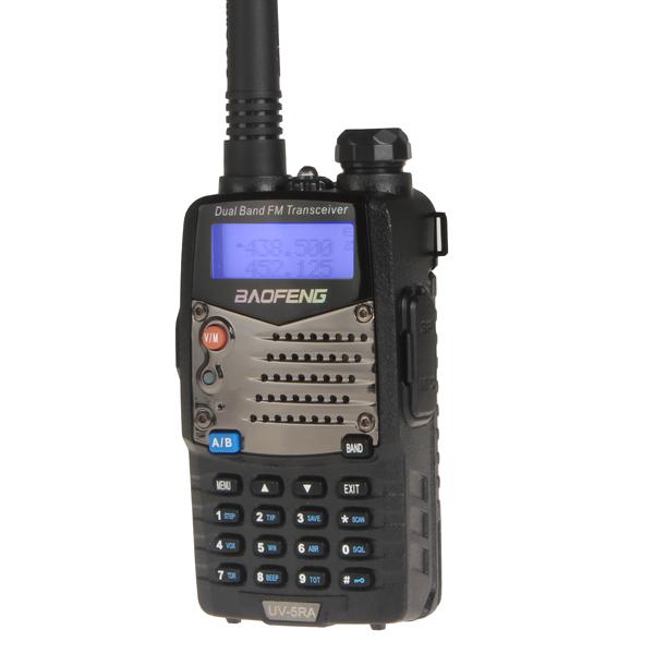 Big Sale! 2 Set BaoFeng UV-5RA Digital Intercom Interphone 2 Way 136-174MHz/400-480MHz Radio Dual Band Walkie Talkie Transceiver(China (Mainland))