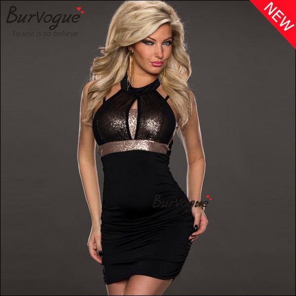 цены Женское платье Burvogue spaghettti Bodycon M, l 15265