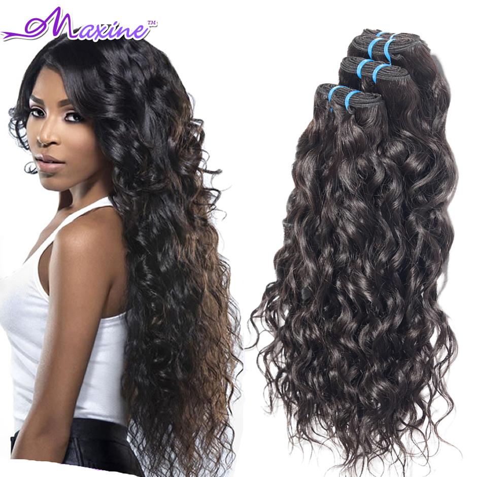 6A Brazilian Virgin Hair Water Wave Maxine Hair Unprocessed Brazilian Virgin Hair Extensions 3pcs lot 300g Iwish Hair Wet Wavy<br><br>Aliexpress