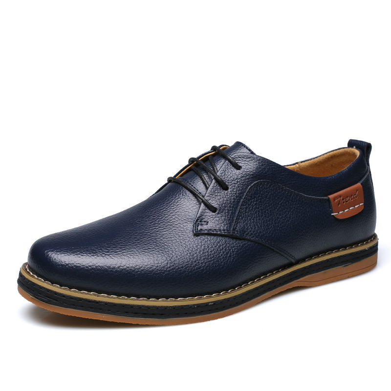 2016 new fashion casual shoes genuine leather