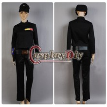 Adult Halloween Star Wars Imperial Officer Cosplay Costume D0113