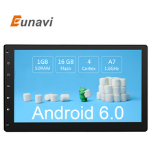 Buy Eunavi 10.1 inch Android 6.0 3G Wifi Car radio GPS Navigation 2 din Car Stereo Radio Car GPS Bluetooth USB/SD Universal Player for $215.67 in AliExpress store