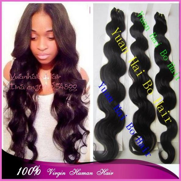 Cheap Price 6a Grade 3pcs/lot #1b virgin malaysian hair long malaysian body wave weft for women free shipping<br><br>Aliexpress