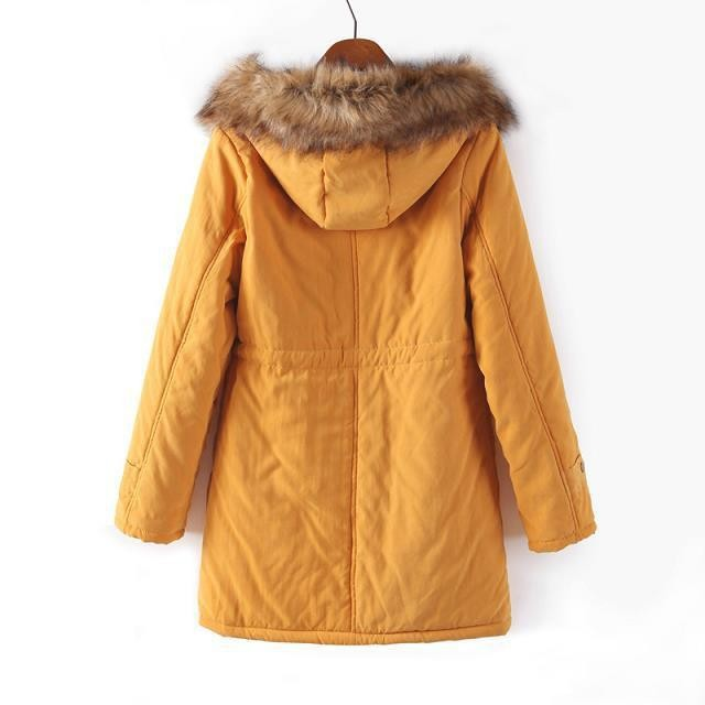 Plus Size S-XXXL New Women's Slim Hooded Thick Winter Snow Cotton Warm Jacket Coat Outwear Parkas,7 Colors,CS1692,Free Ship