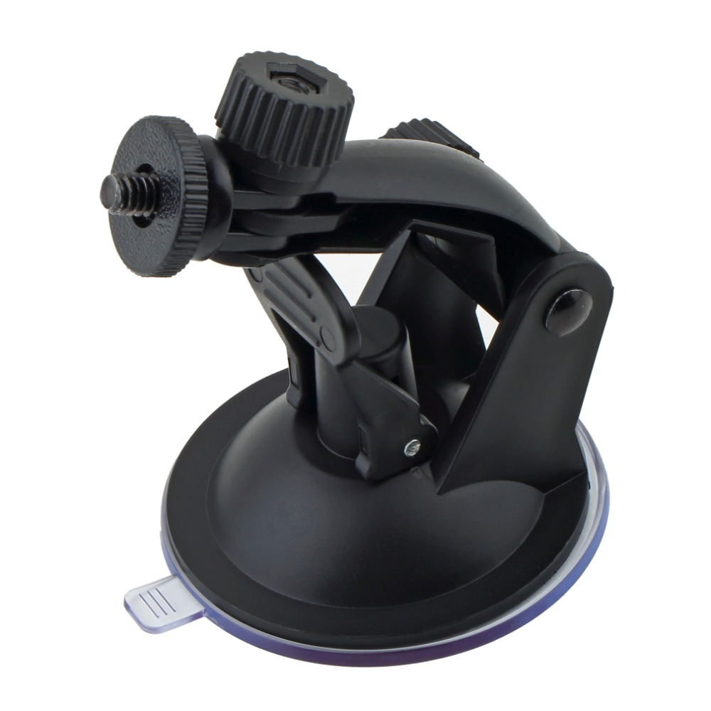 Professional Car Windshield Suction Cup Mount Holder Driving Recorder Bracket with Tripod Adapter for Gopro Hero 3 2 1 Camera(China (Mainland))