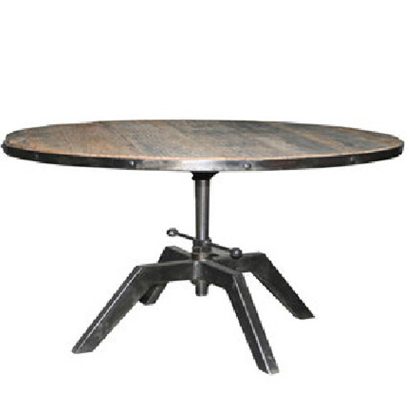American country furniture wrought iron wood coffee table for Wrought iron wood coffee table
