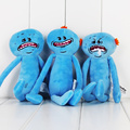 3pcs lot Rick and Morty Happy Sad Mr Meeseeks stuffed plush toy Gift for Christmas