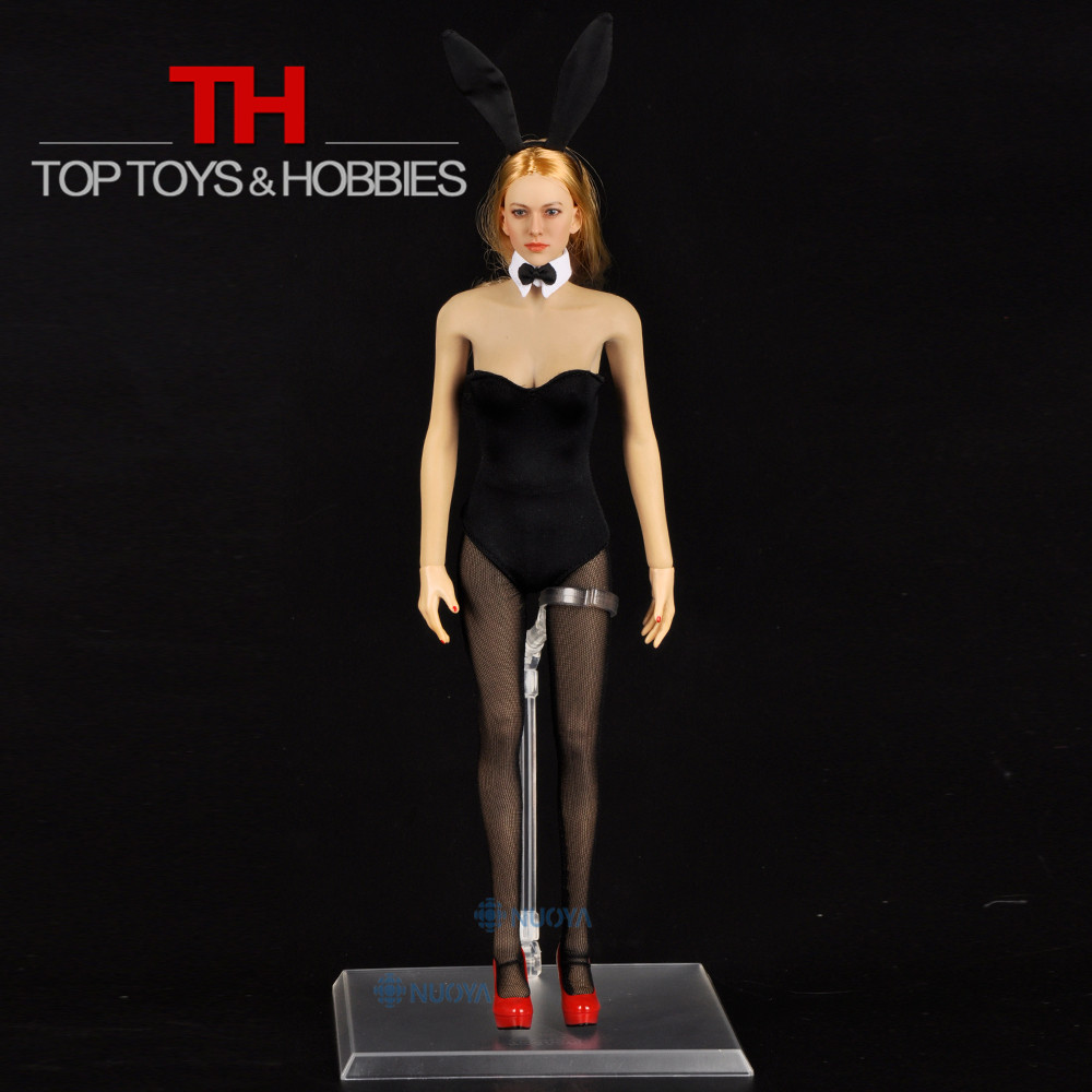 DIY Sexy Jodoll Toys 1/6 Scale Beautiful Bunny Girl Full Set,Head Sculpt+Body+Corset+Shoes For 12 Action Figure Doll Collection