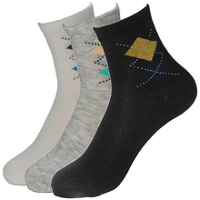 Hot Sale Summer Autumn Classical Men's Socks Bilateral Rhombus Quality 5 Colors Cotton Polyester Fitted Breathable Sock For Men(China (Mainland))