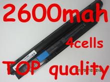 14.4V 2600mAh battery For Dell Inspiron N311z N411z Vostro V131 V131D V131R H2XW1 H7XW1 JD41Y N2DN5 268X5 312-1257 312-1258(China (Mainland))