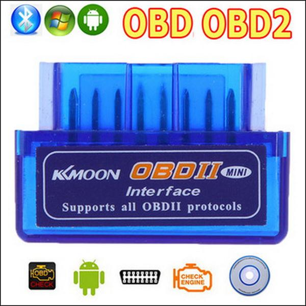 BY DHL OR EMS 100PCS V2.1 ELM327 ELM 327 OBD2 OBD Bluetooth Interface Auto Car Scanner obdii obd ii Diagnostic Tool works(China (Mainland))