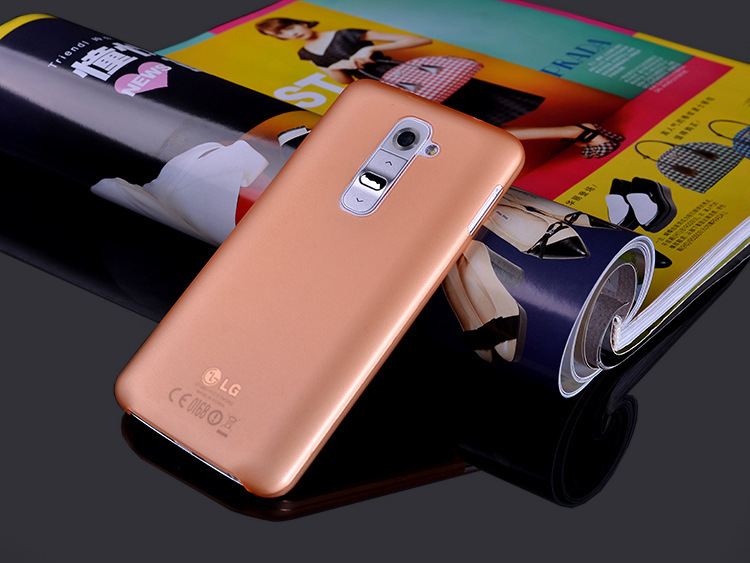 Best price retail and wholesale 0.3MM ultra slim PP material matte phone case for LG G2 D801 D802 free shipping 1158#(Hong Kong)