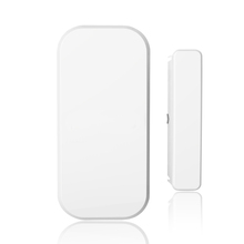 Newest High quality 1Pcs 433 MHZ Wireless Home Security Door Window Sensor Detector with Battery for GSM PSTN Alarm System
