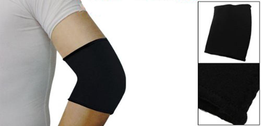Sport Black Elastic Neoprene Elbow Support Sleeve Brace(China (Mainland))