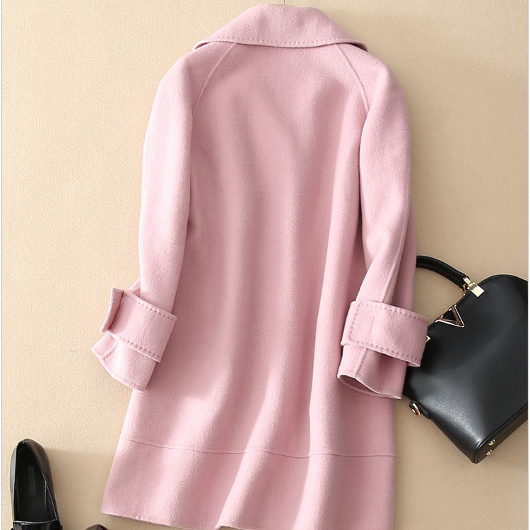 Pink Wool Coat Uk - Coat Nj