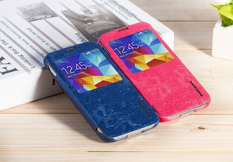 Original NOHON Phone Back Splint Cover Battery For Samsung Galaxy S5 High Capacity 2800mAh+3000mAh