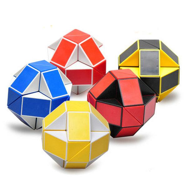 shengshou Magic Cubes Spring magic ruler 24 The cubes shaped magicos puzzles stick juguetes(China (Mainland))