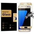 For Samsung Galaxy S7 Screen Protector HD Full Coverage 0 3mm Curved Edge to Edge Tempered