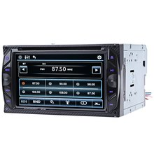 6.2 inch Car Audio Digital Touch Screen Double Din 32GB DVD Player Bluetooth V3.0 Hands Free Calls SD USB FM Auto Radio - AutoTech Major Store store