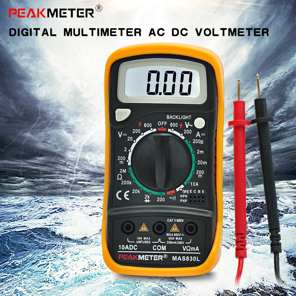 Ac Dc Digital Voltmeter Kit : Electrical multimeter reviews online shopping
