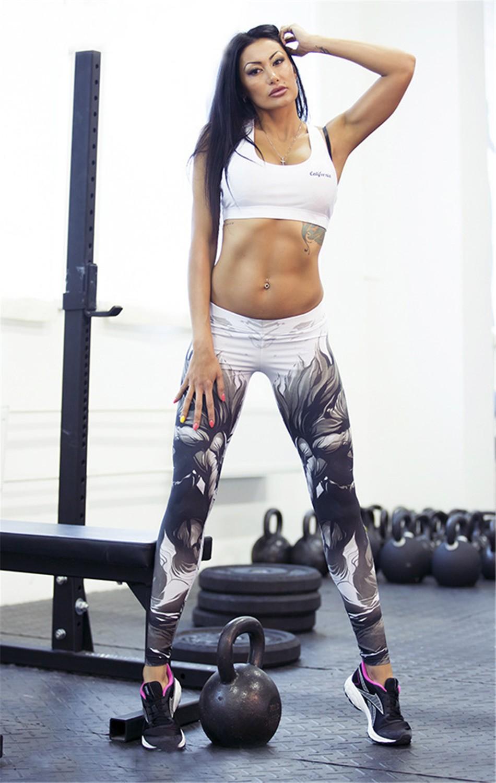 Fitness Cool Fabric Leggings