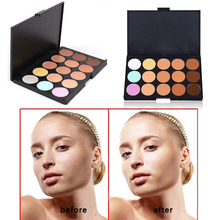 ONLY Hot New Professional 15 Color Make Up Cream Camouflage Concealer Palette