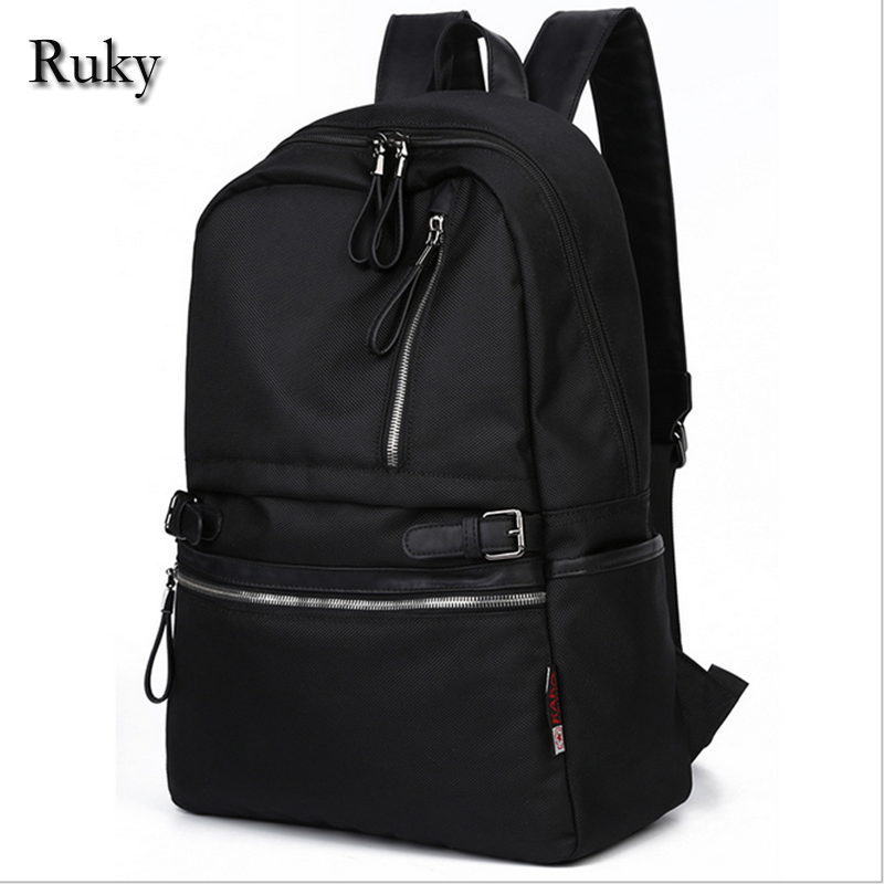 New Design 2016 Casual Fashion Backpack Men Travel Waterproof Computer Laptop backpacks for teenage School Black Camouflage bag(China (Mainland))