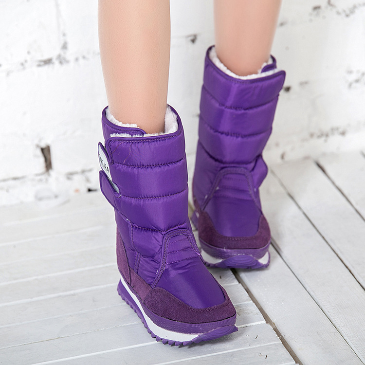 Women boots 2016 colorful snow boot fashion new arrivals Warm Ladies winter boots(China (Mainland))