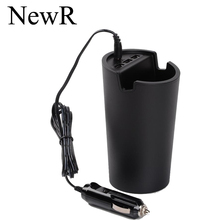 Three 3-port usb car charger universal car charger with Cup holder black 5V1A / 5V 2.4A for iphone 5 / 5s ipad Free shipping