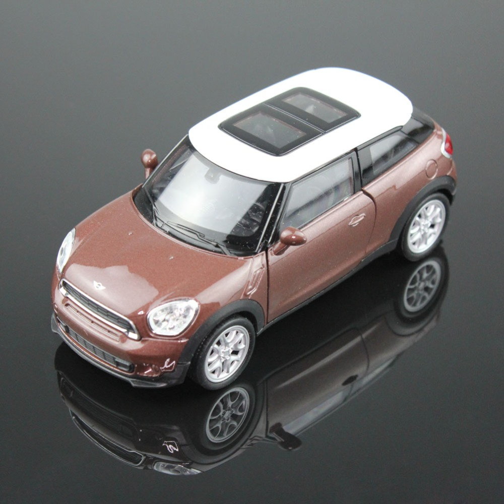 1PC High Quality WELLY 43685CW Mini Cooper S Paceman 1/34-39 Diecast Vehicles Model Car Pull Back Toys for Collection Best Gift(China (Mainland))