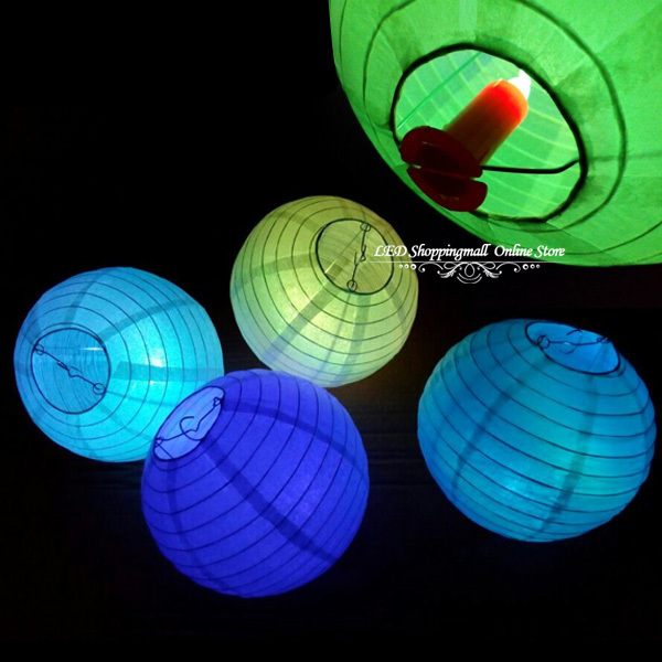 Lantern Candle Lights Led Candles Chinese New Year Backdrop Design Paper Lanterns Used Tea Light Home Party Decoration 10pcs/lot(China (Mainland))