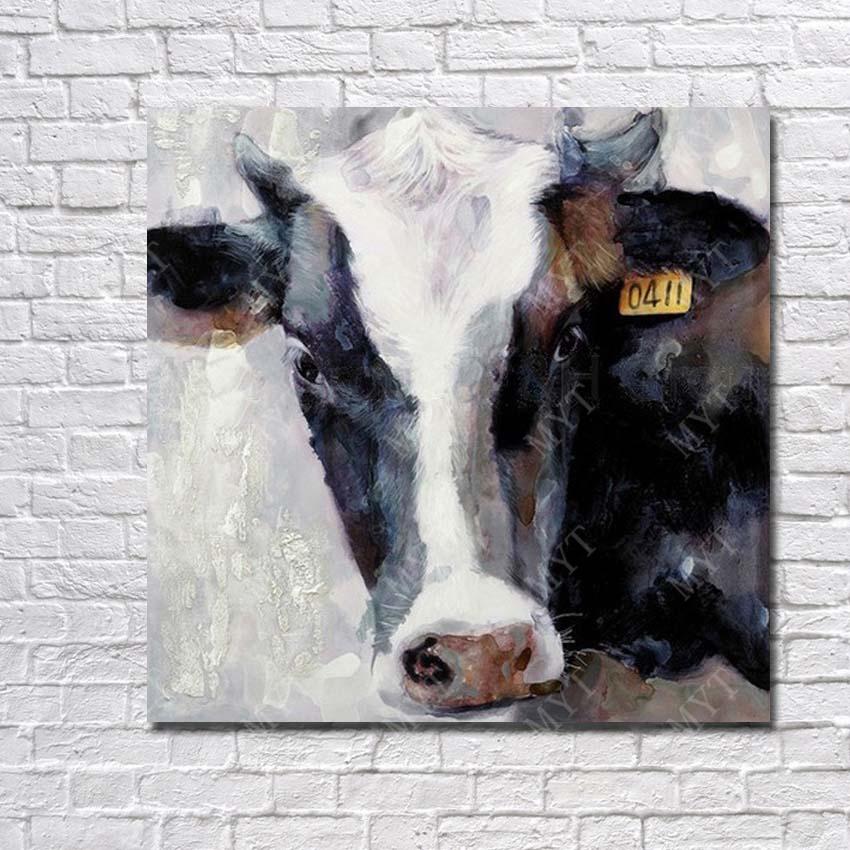 Online get cheap realistic animal drawings - Cuadros de vacas ...