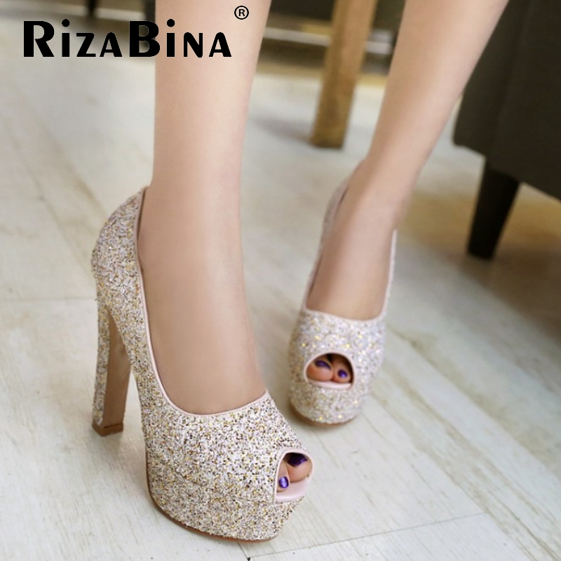 women open peep toe high heel shoes platform sexy brand quality footwear fashion heeled pumps heels shoes size 31-43 P18929<br><br>Aliexpress
