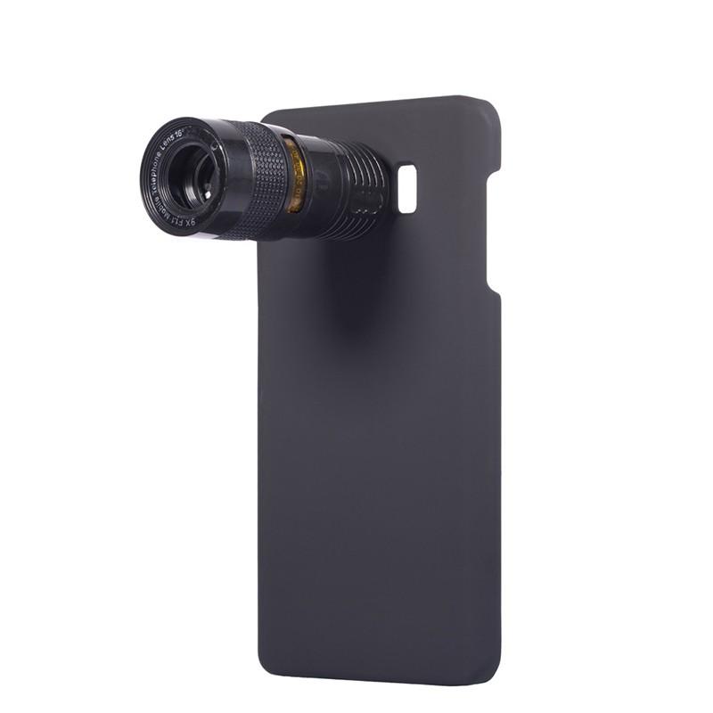 Mobile Phone Lens for Samsung S5 S6 S6Edge S6Edge plus NOTE3/4/5 M4 9X Telescope Zoom Lens Fisheye Camera Lens Telephoto Lenses