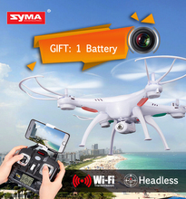 SYMA X5SW 2.4G WIFI FPV Quadcopter 4CH 6 Axis GYRO Helicopter RC Remote Control RTF Drone With 2MP Camera HD Outdoor Toys