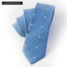 Mantieqingway Brand Ties for Men Cotton Floral Ties Men Necktie Skinny Gravata Masculina Tie Cravat Pocket Square Handkerchief(China (Mainland))