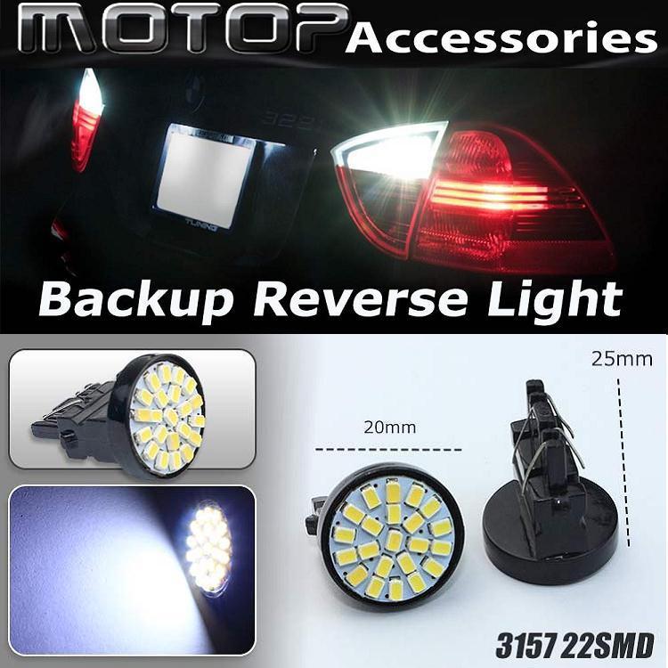 10pcs White 22-SMD 3156 3157 Led Bulbs For Car Backup Reverse Light Lamp Car Styling Brand New Good Quality