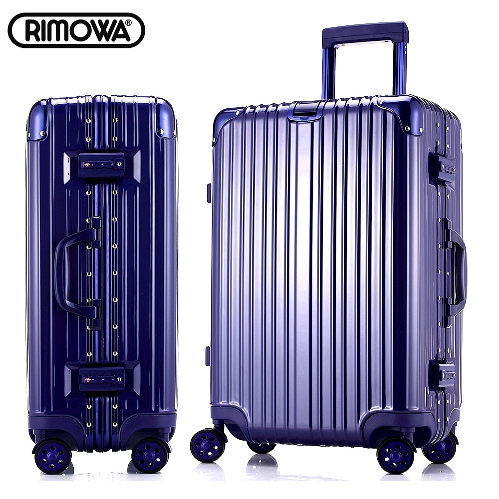 7-color LOGO customization aluminum frame&angle&drawbars universal casters rolling carry-on luggage suitcase travel case(China (Mainland))