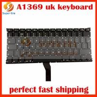 10pcs/lot NEW UK Keyboard For Macbook Air 13
