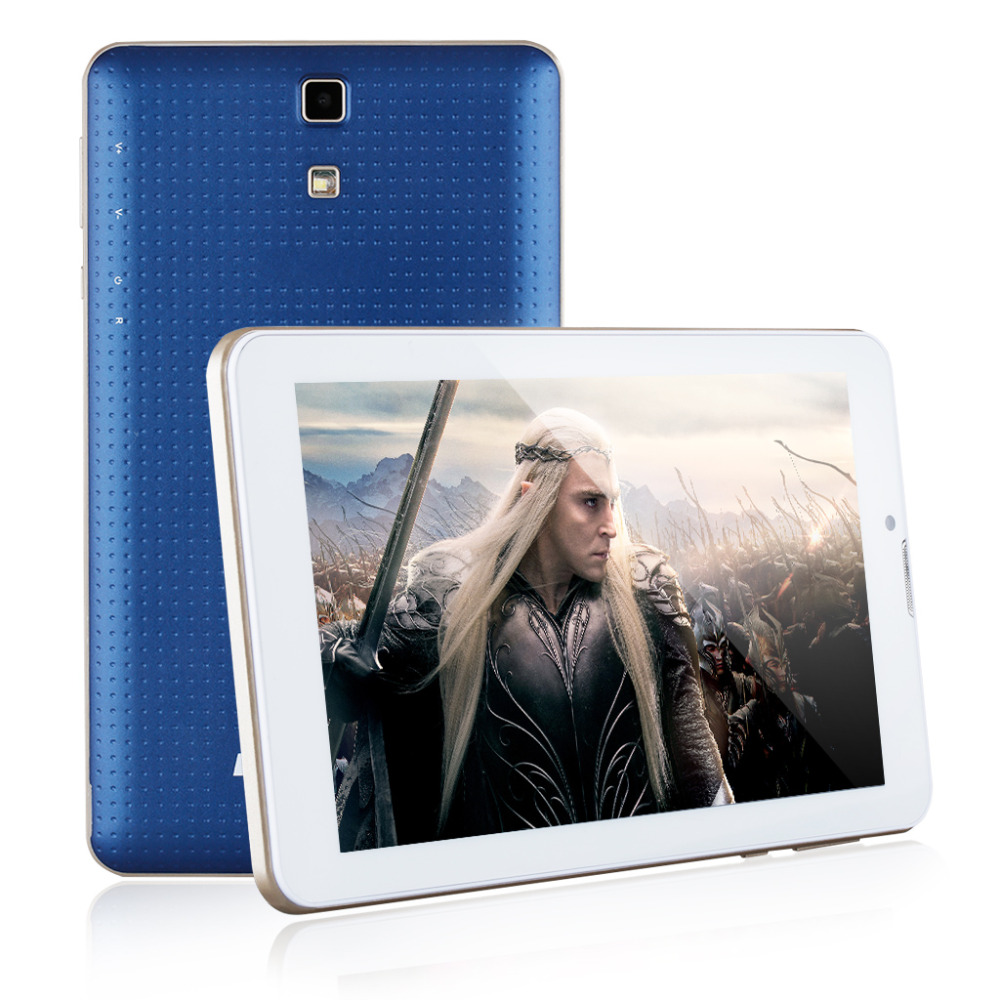"""Excelvan Tablets DuaLCore 7"""" HD Android 4.4 MTK6572 3G Phablet Dual SIM 512MB/8GB Tablette 1.0Ghz Bluetooth GPS WIFI Tablet PC(China (Mainland))"""