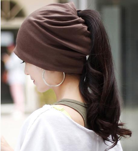 Гаджет  umn and winter the new lady dual-purpose sleeve head cap multifunctional Bib turban solid color hair band cap lovers cap None Одежда и аксессуары